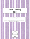 Note Drawing - Novice 2 File Folder