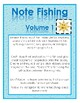 Note Fishing: Volume 1 (Single Notes in the Treble Clef)