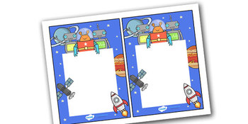 Note From Teacher- Space Theme- Editable