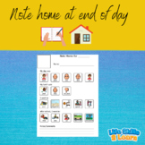 Note Home-Featuring Boardmaker!