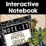 Animal Classification Interactive Notebook