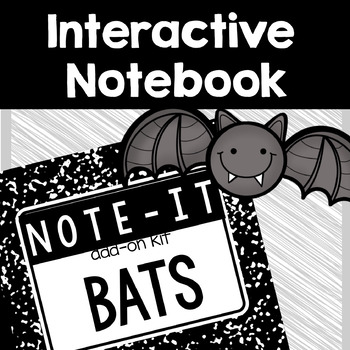Note It! Bats Interactive Notebook Kit