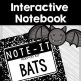 Note It! Bats Interactive Notebook Kit
