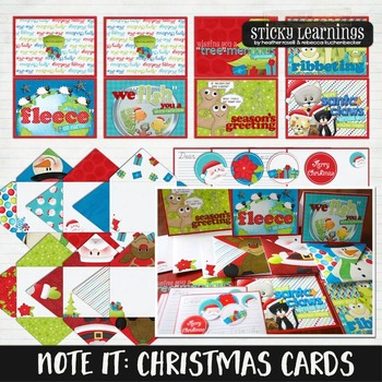 Note It: Christmas Cards