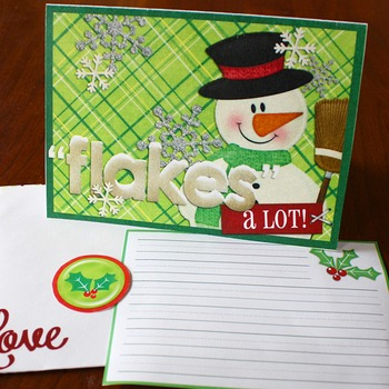 Note It: Christmas Thanks Cards