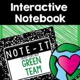 Note It! Earth Day and Worms (Recycling) Interactive Notebook Kit
