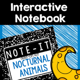 Interactive Notebook- Nocturnal Animals