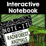 Rainforest Interactive Notebook