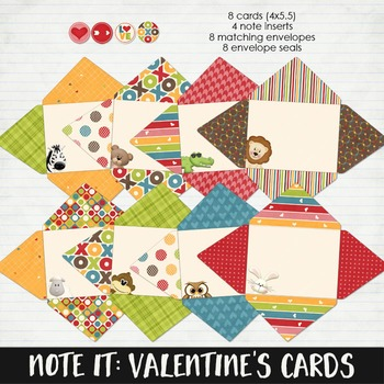 Note It: Valentine's Day Cards