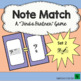 Note Name Music Game Introductory Set (Basic Treble and Bass Clef Notes)