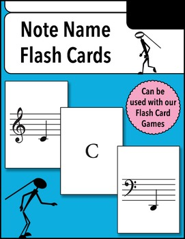 Note Name Flash Cards