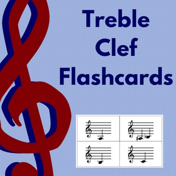 Note Name Flashcards- Treble Clef