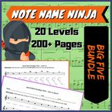 Note Name Ninja - Big 5 bundle