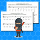Note Name Ninja - Saxophone Edition