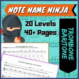 Note Name Ninja - Trombone Baritone BC Edition