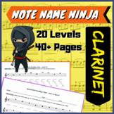 Note Name Ninjas - Clarinet Edition