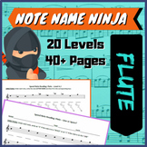 Note Name Ninjas - Flute Edition (FREE)
