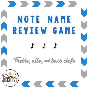 Note Name Review Game