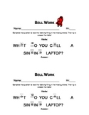 Note Name Warm up/ Bell Ringer Activities! Collection of 10!
