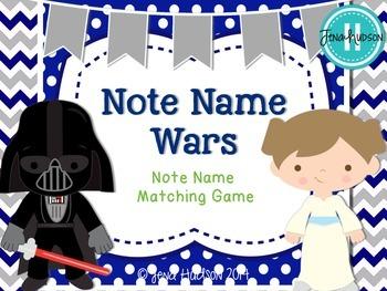 Note Name Wars ~ Matching Game