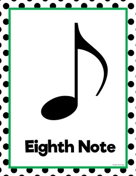 Note Names - Color Collection Basics Music Room Theme