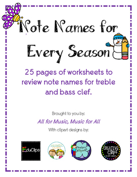 Note Names for Every Season