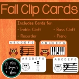 Note Naming Clip Cards