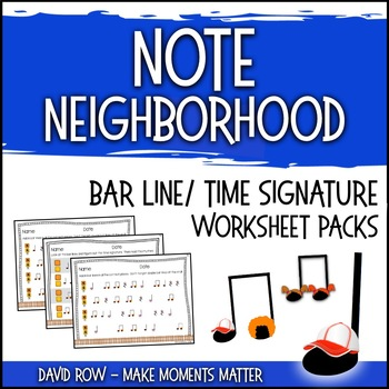 Time Signature Worksheet Teaching Resources | Teachers Pay Teachers