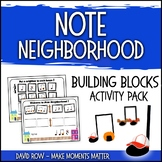 Note Neighborhood – Building Block & Composition Activity Pack