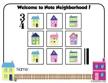 Note Neighborhood – Building Block & Composition Activity Pack