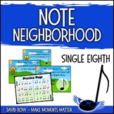Note Neighborhood – Single Eighth Note