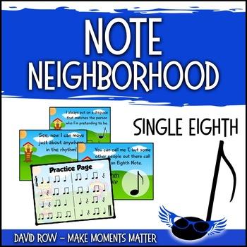 Note Neighborhood – Flying Eighth Note