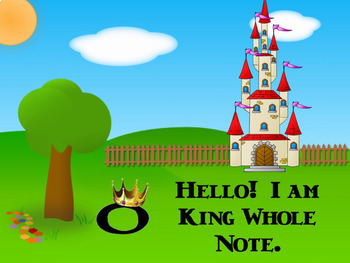 Note Neighborhood – King Whole Note