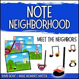 Note Neighborhood – Meet The Neighbors