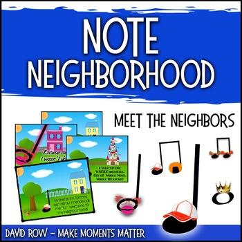 Note Neighborhood – Meet The Neighbors