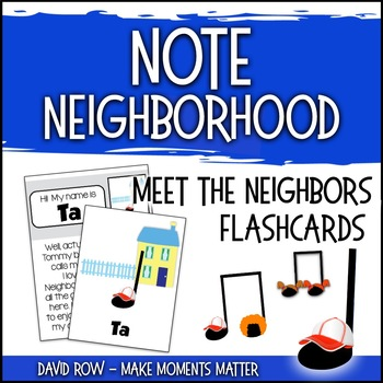 Note Neighborhood – Meet the Neighbors Flashcards