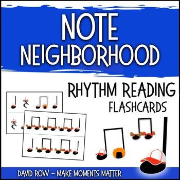 Note Neighborhood – Rhythm Flashcards