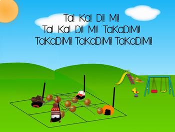 Note Neighborhood – TaKaDiMi/Tika-Tika