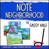 Note Neighborhood – The Sassy Half Note