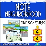 Note Neighborhood – Time Signatures