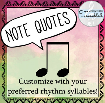 Note Quotes