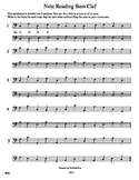 Note Reading Bass Clef WS4