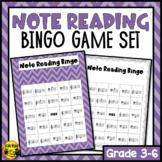 Note Reading Bingo Game