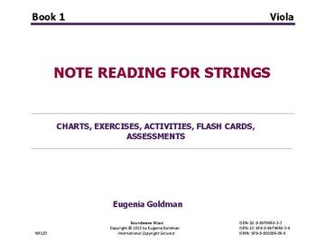 Note Reading For Strings Book 1 (Viola)