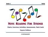 Note Reading For Strings Book 1 (Violin)