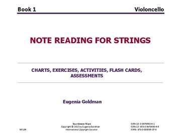 Note Reading for Strings Book 1 ('Cello)