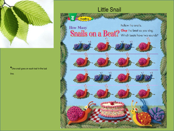 Note-Reading with Snails: COMPANION to Silver Burdette Book
