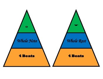 Note & Rest Value Matching Game