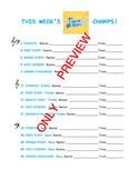 Note Rush Champs Chart