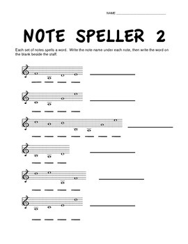 Note Speller 2